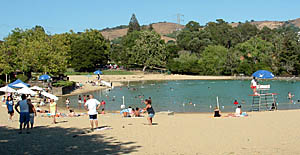 Best places to go swimming in the san francisco bay area for Lake temescal fishing