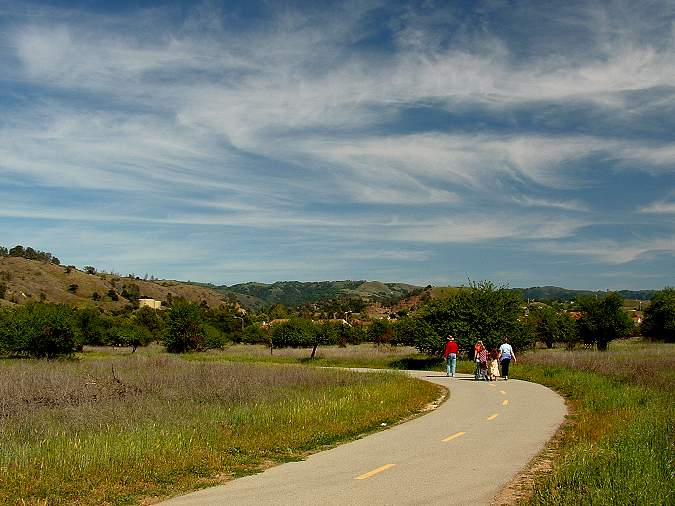 South end of the Coyote Creek Trail