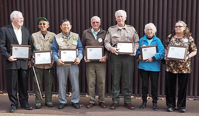 Recipients of Presidential Volunteer Service Award